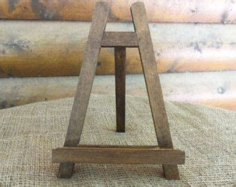 large rustic chic table top easel natural  rustic