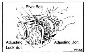 lexus rx300 how to remove the alternator of rx300 lexus19