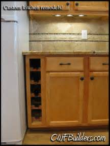 kitchen cabinets wine rack kitchen remodeling and custom cabinetry santa clarita ca