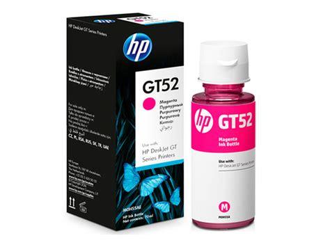 Hp Gt52 Magenta Original hp gt52 magenta original ink bottle m0h55aa fusertech