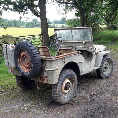 willys jeep ww2 willys jeep 1942 ford gpw ww2 jeep car barn find