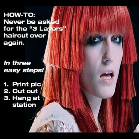 hair jokes on pinterest hair humor lol and so funny 3 layer cut behindthechair com bad hair pinterest