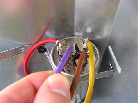replacing capacitor on goodman ac unit goodman hvac condenser dual run capacitor replacement guide 017