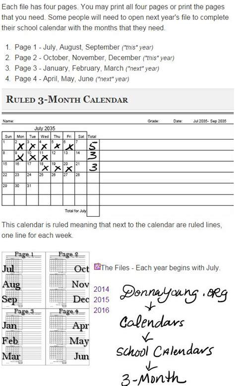 printable calendar ruled printable calendar ruled 3 month calendar under school