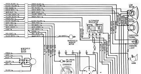 ford galaxy fuse diagram 1965 ford galaxie complete electrical wiring diagram part