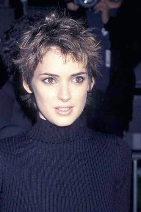 very short hairstyles on pinterest messy pixie corn row 15 messy pixie cuts 10 winona ryder messy pixie hair