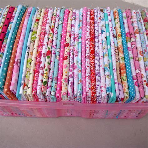 Patchwork And Quilting Fabrics - 50 pcs 20cm 25cm 100 cotton fabric no repeat design