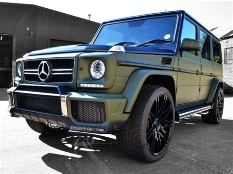 wrapped g wagon g63 amg matte military green car wrap reformauk