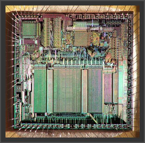 integrated circuit vs cpu ic die photography about these images
