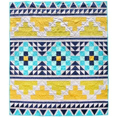 Suzy Quilts by Suzy Quilts Sewing Pattern Mayan Mosaic Quilt