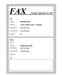 how to write a cover letter for fax fax cover letter askthebrain