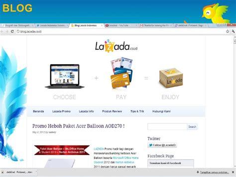 Lazada Indonesia slide e commerce pada perusahaan lazada indonesia