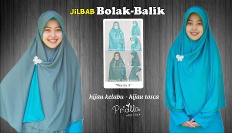 Jilbab Instan Olahraga Jual Jilbab Instan 2in1 Bolak Balik Bahan Spandek Ukuran L