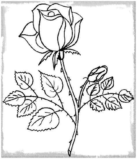 Imagenes De Rosas Faciles | dibujo rosa facil paso a paso dibujos de amor a lapiz