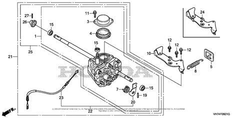 Honda Hrx217hxa by Honda Hrx 217 Transmission Parts Diagram Honda Auto