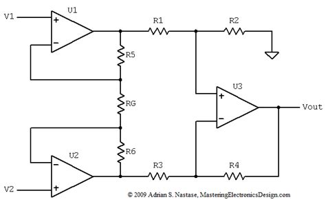 integrated circuit instrumentation lifier how to derive the instrumentation lifier transfer function mastering electronics design