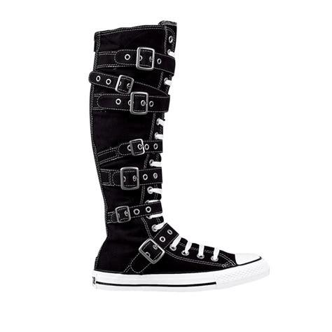 converse all xx hi athletic shoe black