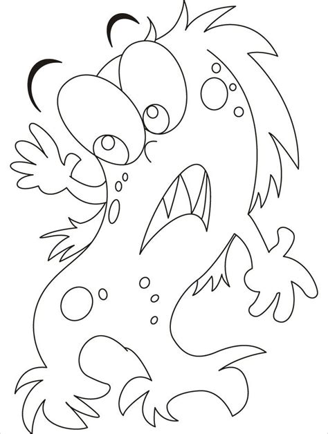 monster faces coloring pages
