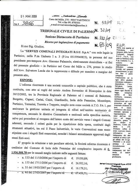 unicredit ufficio personale nuova isola delle femmine esposto denuncia corte dei
