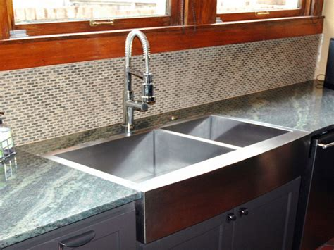 Flush Mount Apron Sink Interior Designs