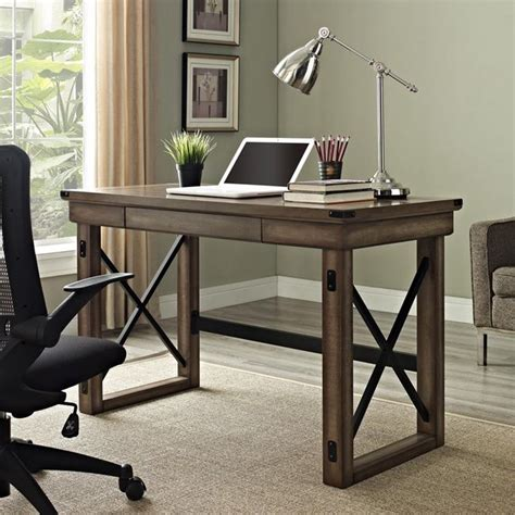 rustic wood office desk 25 best ideas about rustic desk accessories on