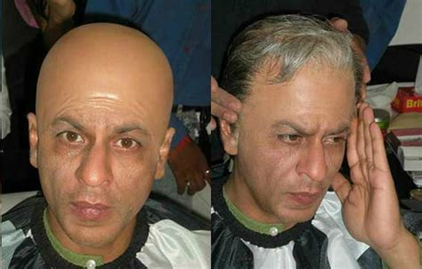 srk hair transplant shahrukh khan shocking looks in hair wig youtube
