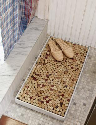 Wine Cork Bath Mat Diy by The Box Drinks And Welcome Mats On