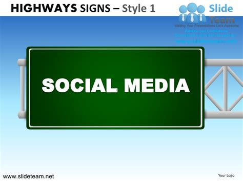 highway freeway exit signs billboards signs design 1