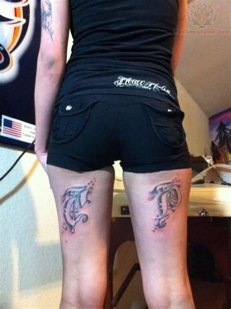 back thigh tattoos back legs tattoo for girls back