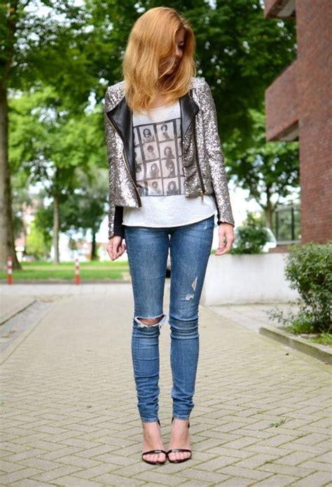 beautiful  sexy women wearing jeans