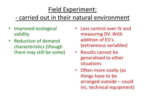 research design natural experiment research methods psya1 psychology as