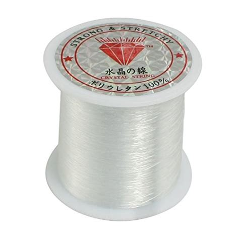 String Fish - 0 2mm diameter clear fish fishing line spool beading