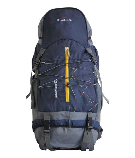 Inlander Blue inlander navy blue polyester hiking bag buy inlander