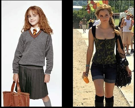 Emma Watson Now And Then | emma watson then and now