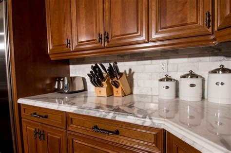 calcutta gold marble kitchen countertop traditional