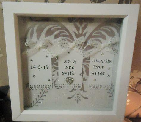 Wedding Keepsake Quotes by Mr Mrs Wedding Box Frame Keepsake Personalised With