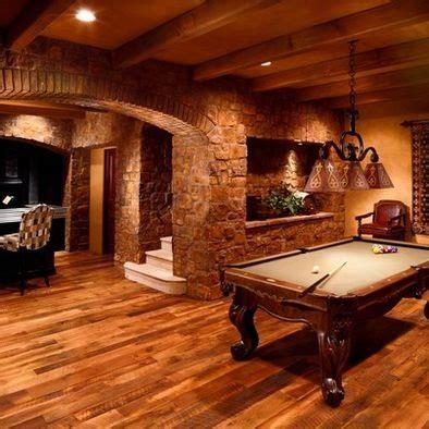 basement photos rustic wood ceiling beams living room