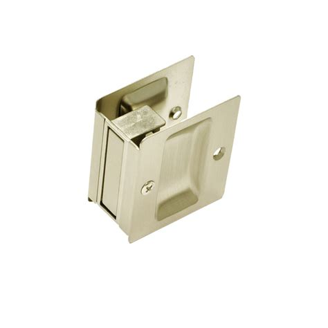 Sliding door lock passage better home products