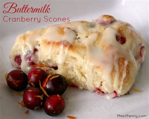 Printable Recipes Using Buttermilk | buttermilk cranberry scones with homemade recipe cards