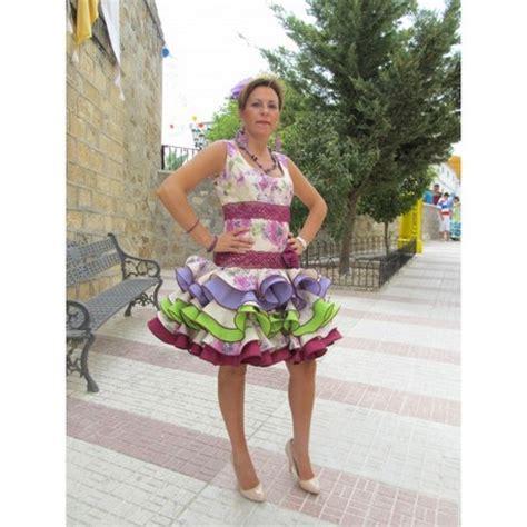 vestido gitana corto vestido flamenca corto