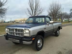 1991 Dodge Truck 1991 Dodge Ram 1991 Dodge Truck In Chicago Il