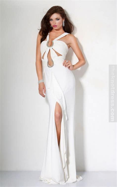 all white cocktail dresses all white prom dresses