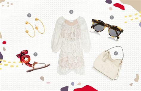 Sandal Wanita Gladiator Sandal White Putih Am42 sentuhan embroidery putih nan feminin smartmama