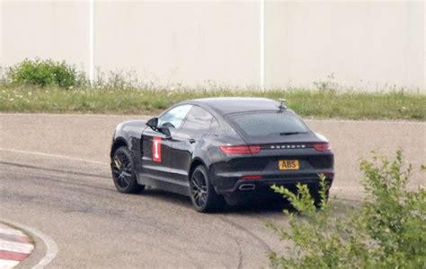 Test Porsche Cayenne by Porsche Cayenne Coupe Meet The Hunkered Electric