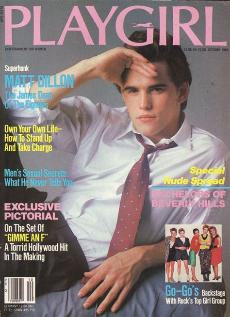 matt dillon buzzfeed quiz 30 award winning actors who also have playgirl covers