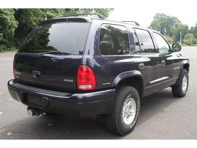 1999 dodge durango for sale by owner buy used 1999 dodge durango slt 4wd limited edition one