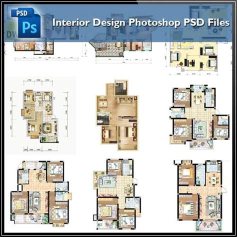 dwg format photoshop 15 types of interior design layouts photoshop psd template