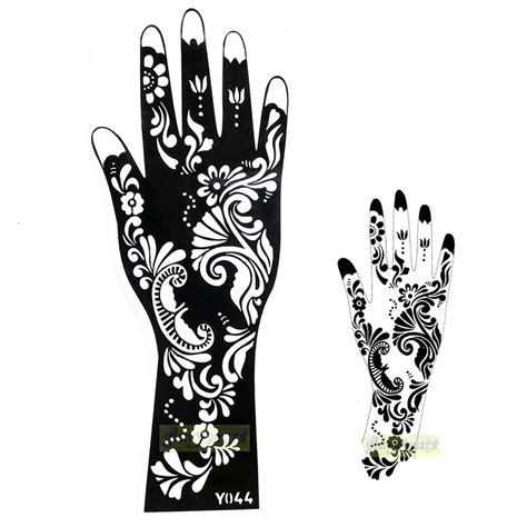 tattoo henna sticker aliexpress com buy 1pc hot exquisite mehndi flower lace