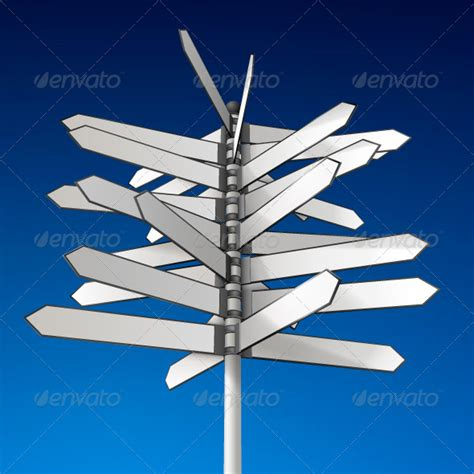 Directional Sign Templates 187 Tinkytyler Org Stock Photos Graphics Direction Signs Template