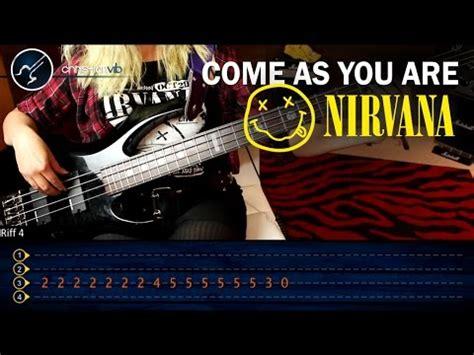 youtube tutorial nirvana como tocar come as you are nirvana en bajo tutorial